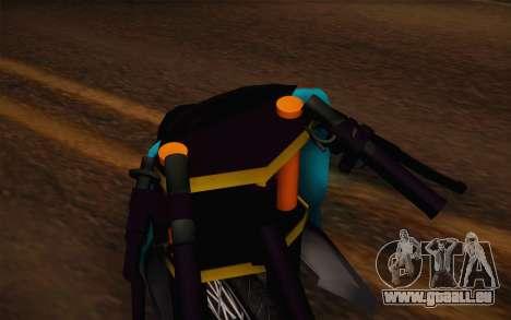 Fino Drag für GTA San Andreas rechten Ansicht