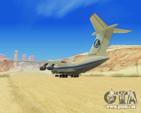 Il-76T AVAST für GTA San Andreas rechten Ansicht