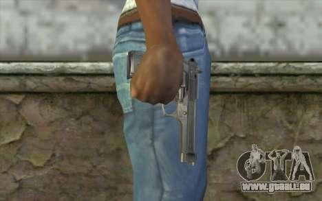 Police Beretta 92 pour GTA San Andreas troisième écran
