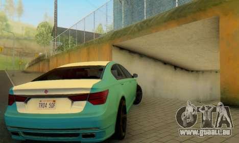 La supériorité de l'Oracle II - V.2 pour GTA San Andreas salon