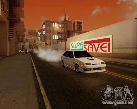 VAZ 2112 Accordables pour GTA San Andreas vue de côté