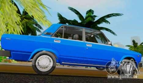 VAZ 2105 Riva pour GTA San Andreas laissé vue