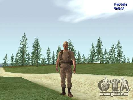 Afghanistan Soviet Soldiers pour GTA San Andreas