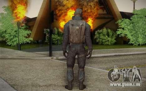 S.A.S Gas Mask pour GTA San Andreas deuxième écran