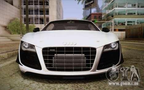 Audi R8 GT 2012 für GTA San Andreas Seitenansicht