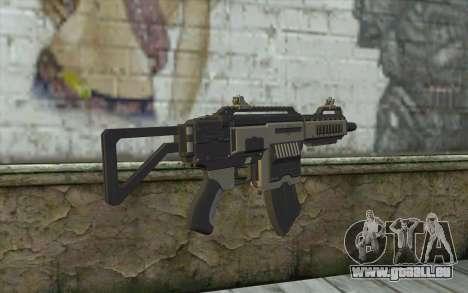 NS-11C Carbine from Planetside 2 für GTA San Andreas zweiten Screenshot