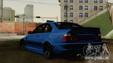 BMW M3 E46 STANCE für GTA San Andreas linke Ansicht