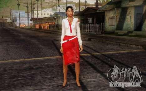 Xian Mei from Dead Island pour GTA San Andreas