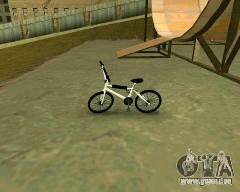 BMX из GTA Vice City Stories pour GTA San Andreas sur la vue arrière gauche