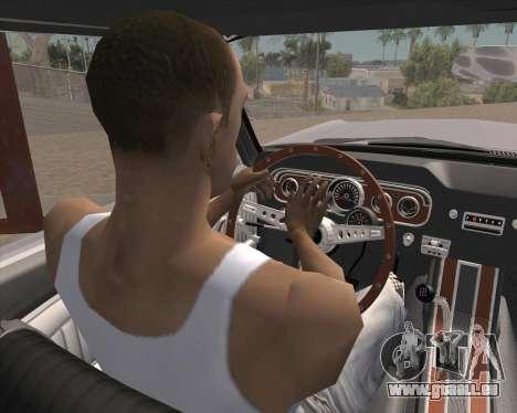 L'Animation en appuyant sur le signal pour GTA San Andreas