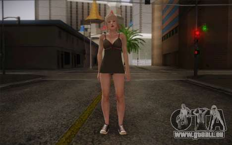 Albino Girl für GTA San Andreas