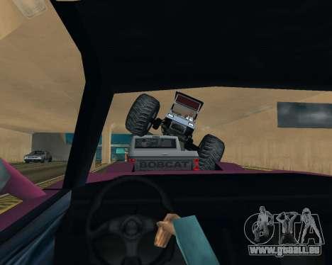 Caddy Monster Truck für GTA San Andreas Seitenansicht