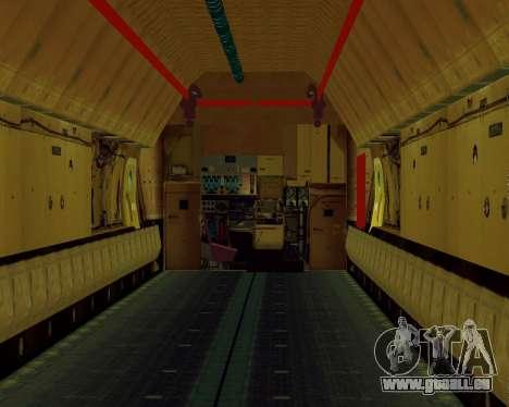 Il-76T AVAST für GTA San Andreas Rückansicht
