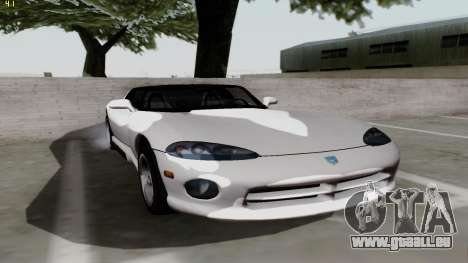 Dodge Viper RT-10 1992 pour GTA San Andreas