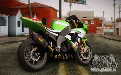 Kawasaki ZX-10R Ninja für GTA San Andreas linke Ansicht