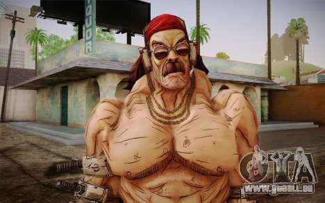 Mr. Torgue из Borderlands 2 für GTA San Andreas