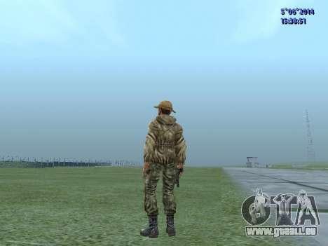 L'atmosphère de soldat de l'URSS pour GTA San Andreas deuxième écran