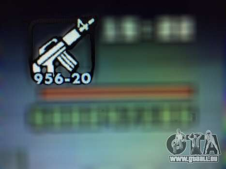 Les nouvelles fonctionnalités d'armes pour GTA San Andreas huitième écran