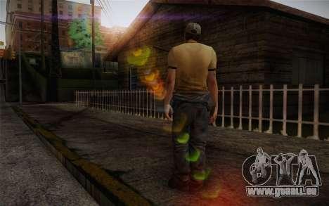 Ellis from Left 4 Dead 2 pour GTA San Andreas deuxième écran