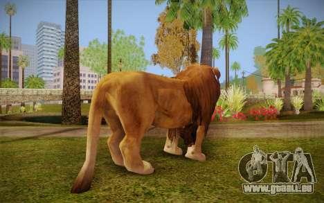 Lion für GTA San Andreas zweiten Screenshot
