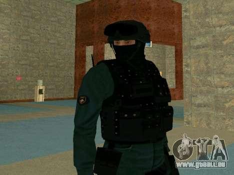 Haut SOBR für GTA San Andreas dritten Screenshot