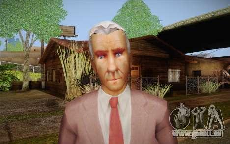 Leslie William Nielsen für GTA San Andreas dritten Screenshot
