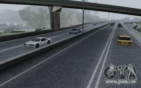 HD Roads 2014 pour GTA San Andreas cinquième écran