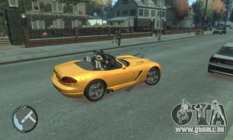 Dodge Viper SRT-10 2003 v2.0 pour GTA 4 est une vue de dessous