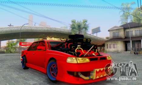 New Sultan pour GTA San Andreas vue arrière
