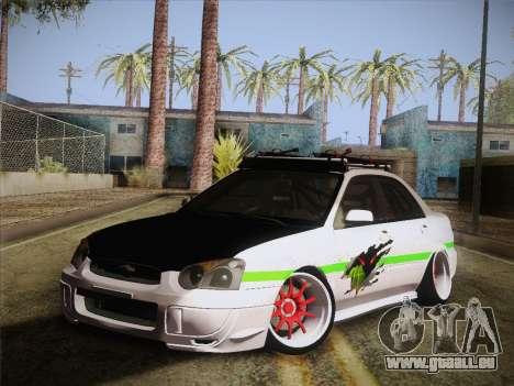 Subaru Impreza Hellaflush pour GTA San Andreas