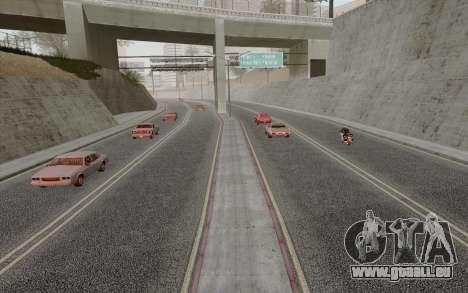 HD Roads 2014 pour GTA San Andreas troisième écran