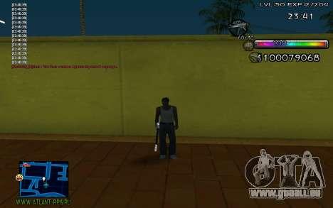 C-HUD by Miks pour GTA San Andreas troisième écran