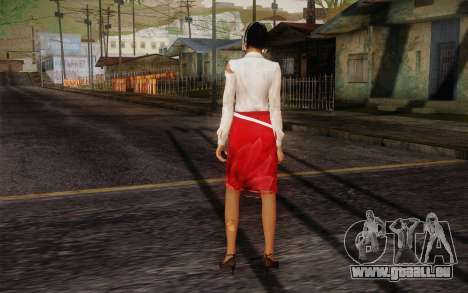 Xian Mei from Dead Island für GTA San Andreas zweiten Screenshot