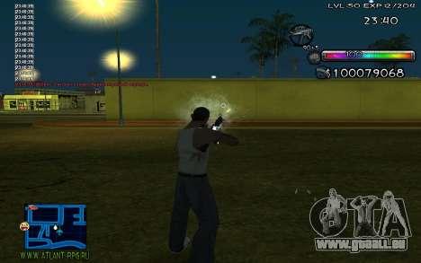 C-HUD by Miks pour GTA San Andreas deuxième écran