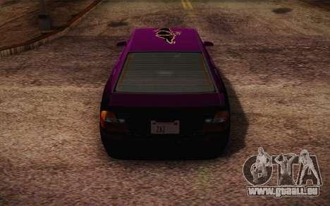 Sultan из GTA 5 pour GTA San Andreas roue