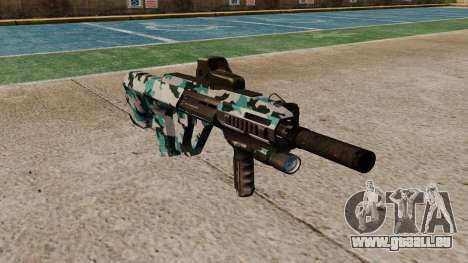 Автомат Steyr AUG-A3-Optik-Aqua-Camo für GTA 4