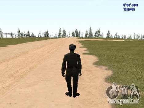USSR Soldier Pack pour GTA San Andreas troisième écran