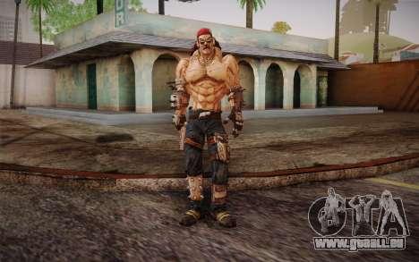 Mr. Torgue из Borderlands 2 für GTA San Andreas zweiten Screenshot