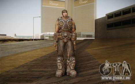 Marcus Fenix из Gears of War 3 pour GTA San Andreas