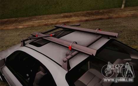 Honda Civic 1999 pour GTA San Andreas sur la vue arrière gauche