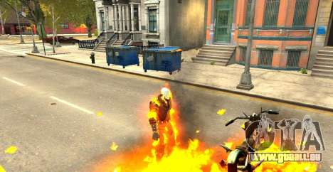 Ghost Rider pour GTA 4