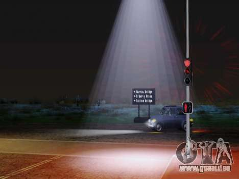 Improved Lamppost Lights v2 pour GTA San Andreas