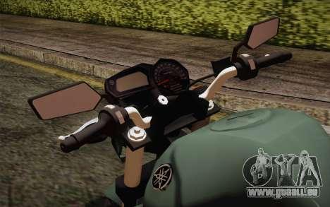 Yamaha FZ6 pour GTA San Andreas vue de droite