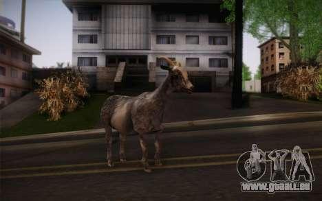 Chèvre pour GTA San Andreas deuxième écran