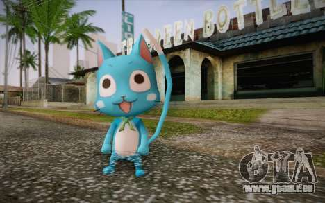 Happy from Fairy Tail pour GTA San Andreas