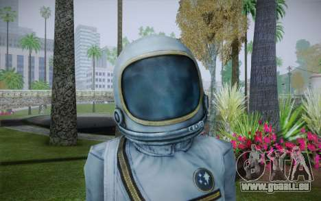 Spacesuit From Fallout 3 für GTA San Andreas dritten Screenshot