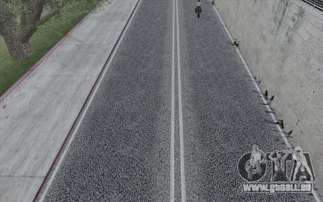 HD Roads 2014 für GTA San Andreas her Screenshot