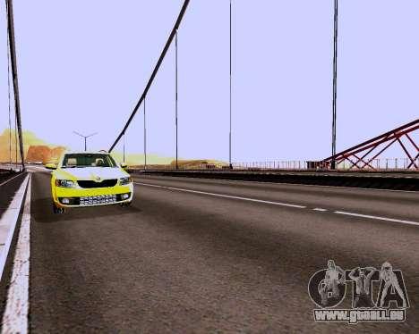 Skoda Octavia Combi A7 für GTA San Andreas Innenansicht