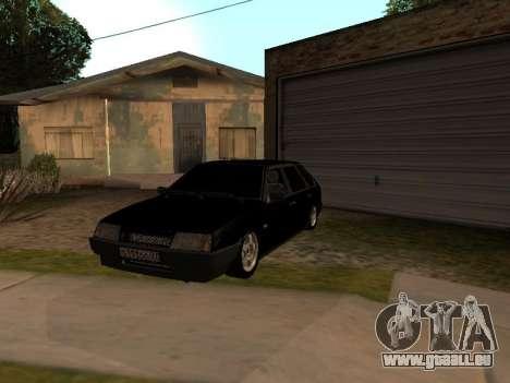 VAZ 2109 Gangster neuf V 1.0 pour GTA San Andreas vue de côté