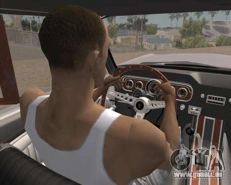 L'Animation en appuyant sur le signal pour GTA San Andreas deuxième écran